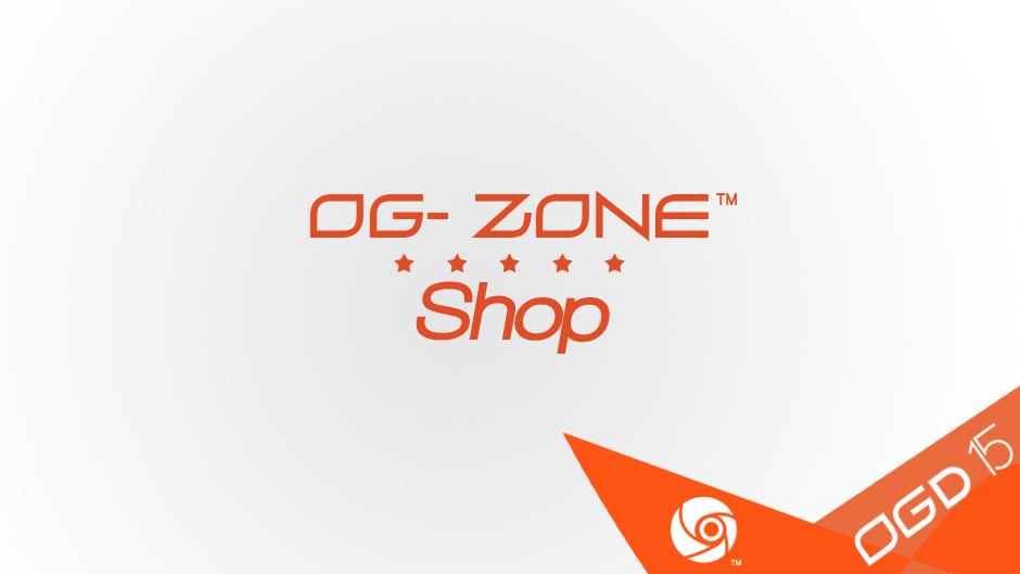 [OGD2015] Ouverture de la boutique OG-ZONE